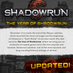 Year of the ShadowRun Update