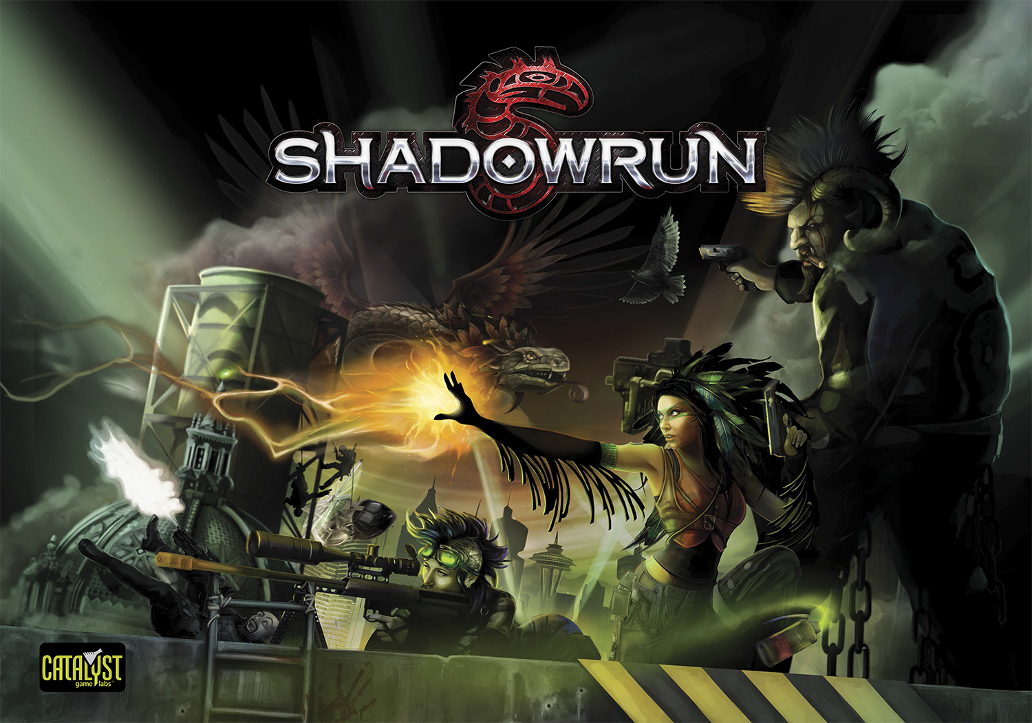 Shadowrun America Map.Shadowrun Digital Tools Box Poster Shadowrun 5