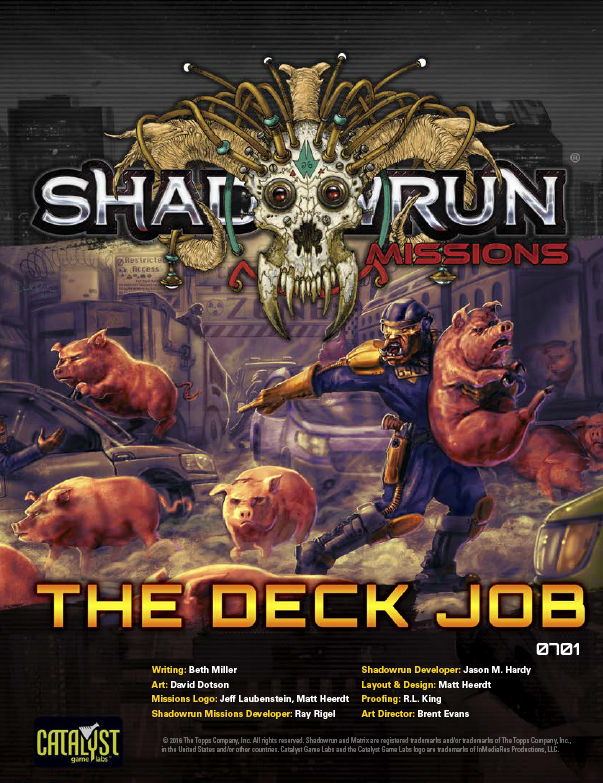 Shadowrun Missions: The Deck Job (07-01)