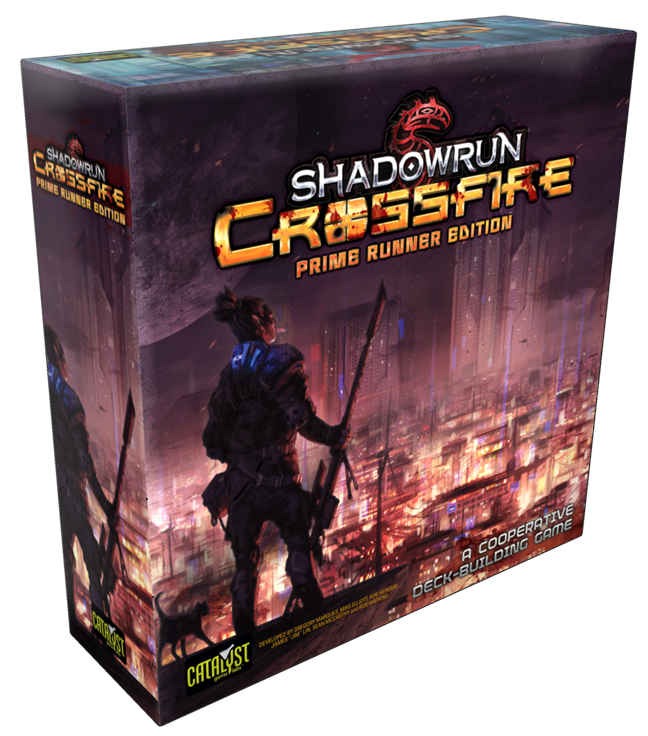 902ad8ca8c2 Shadowrun  Crossfire  Prime Runner Edition ( 59.99) The shadows of the  Sixth World have every kind of danger you can imagine.