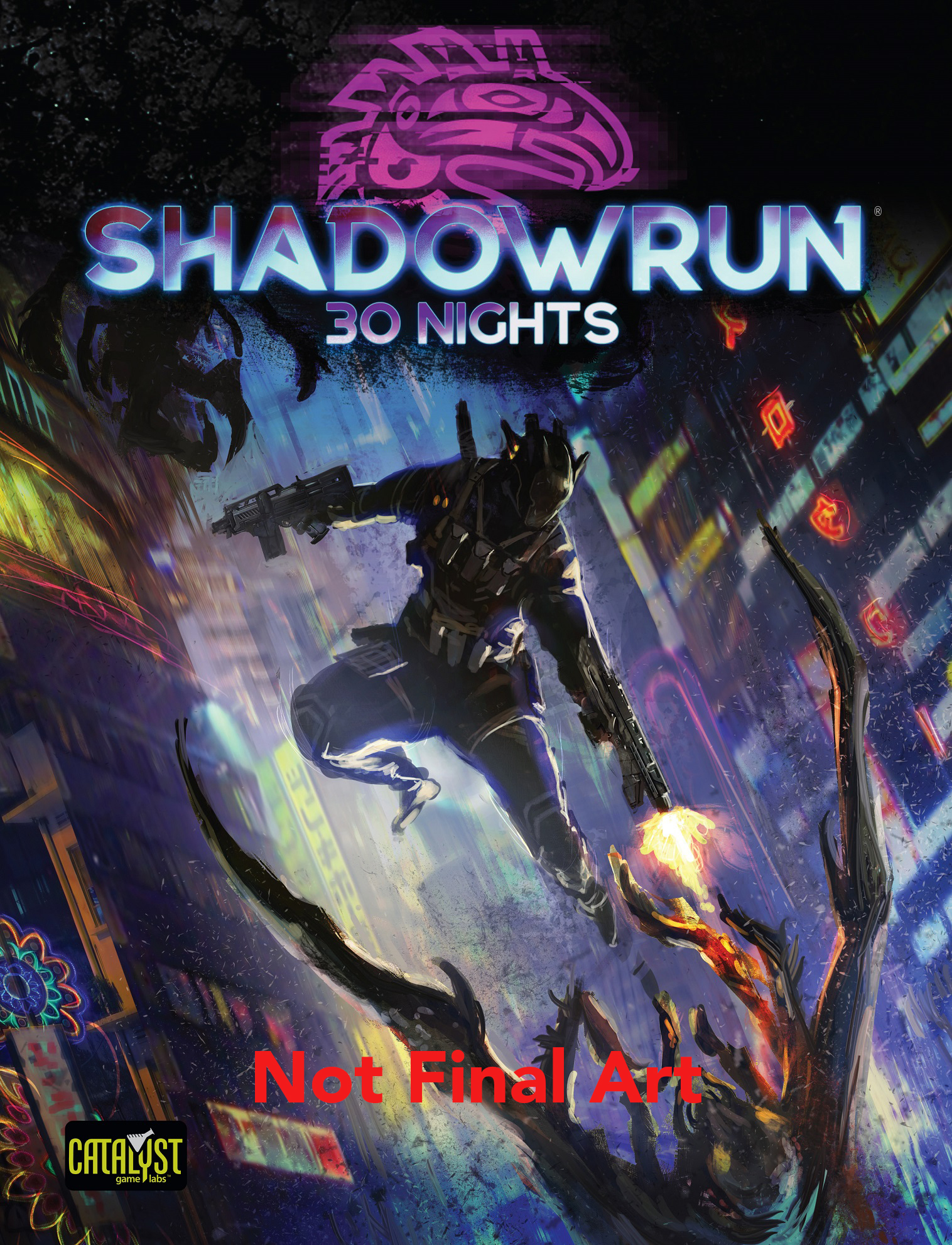 Preview the Lineup of Shadowrun, Sixth Edition Rulebooks ...